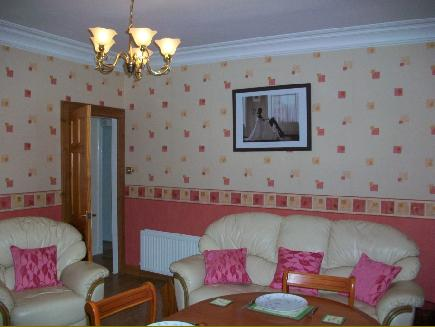 Pictures of our self catering flat in kirkcaldy fife scotland for Living room kirkcaldy